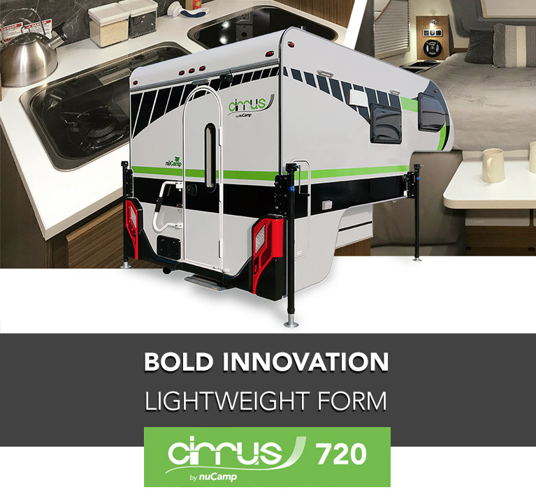 The Cirrus 720 Truck Camper