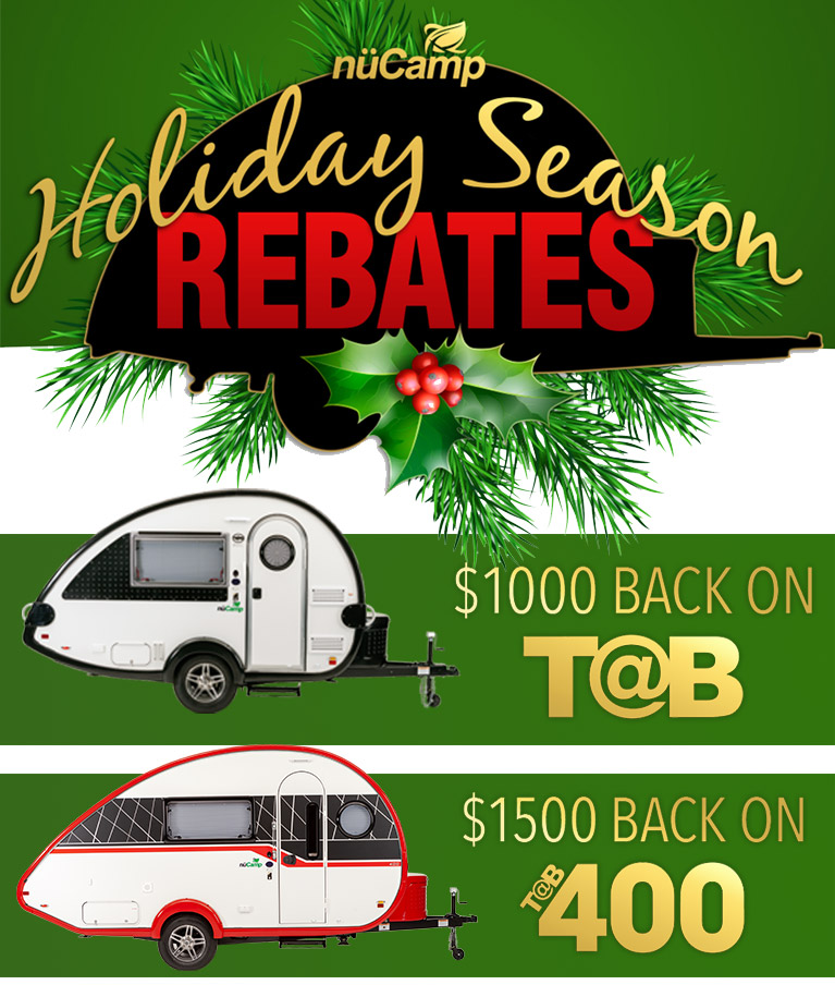 Tis The season to save on Teardrop Campers