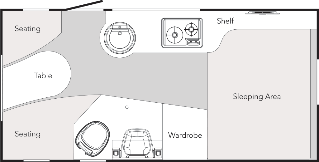 TAB 400 Floor Plan