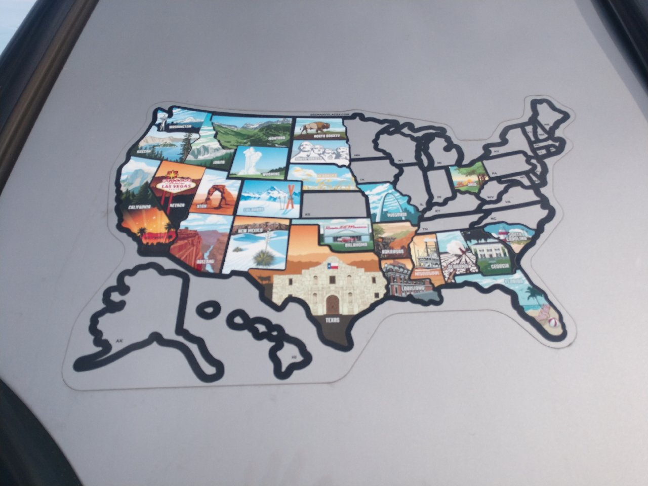50 States Stickers