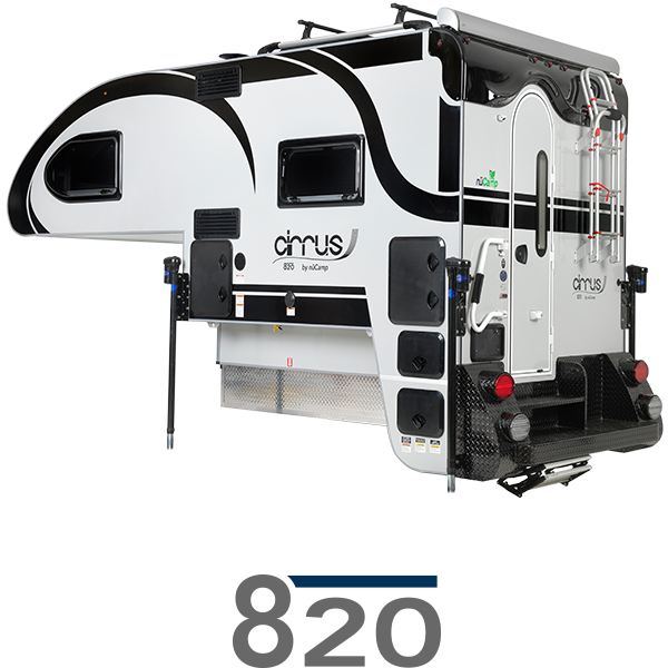 Go to Cirrus 820 Truck Camper Page