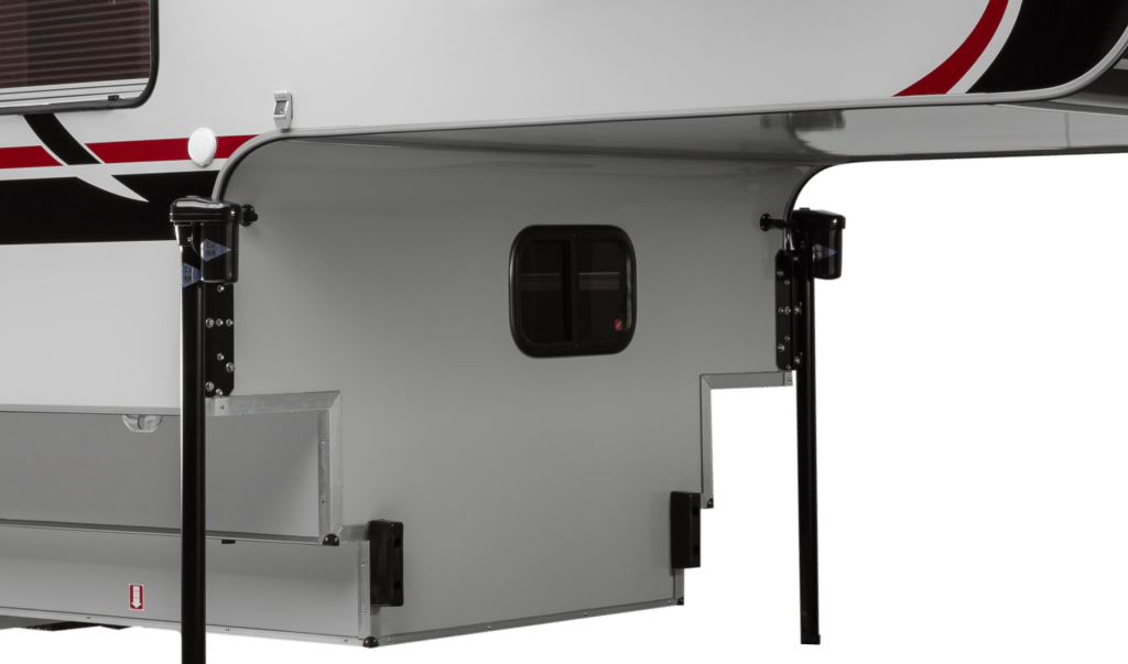 Pass Thru Window Cirrus Truck Camper Options