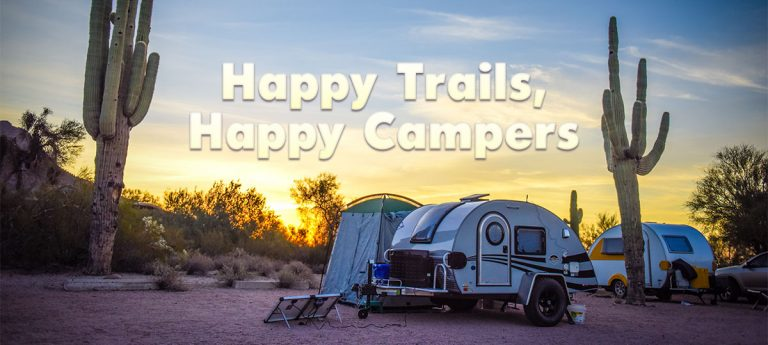 Happy trails lead to happy campers