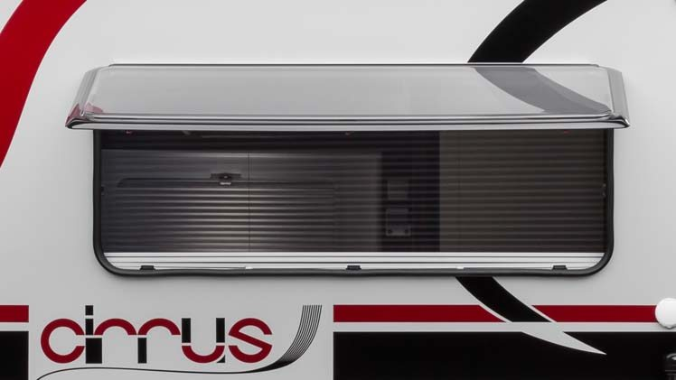 Monster Picture Window in Cirrus 820 Truck Camper