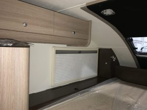 Cirrus 820 Truck Camper 2 Storage Hampers and Corner Cabinets on Either Side